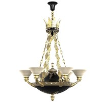 mariner 18812 chandelier pendant classic glass shade